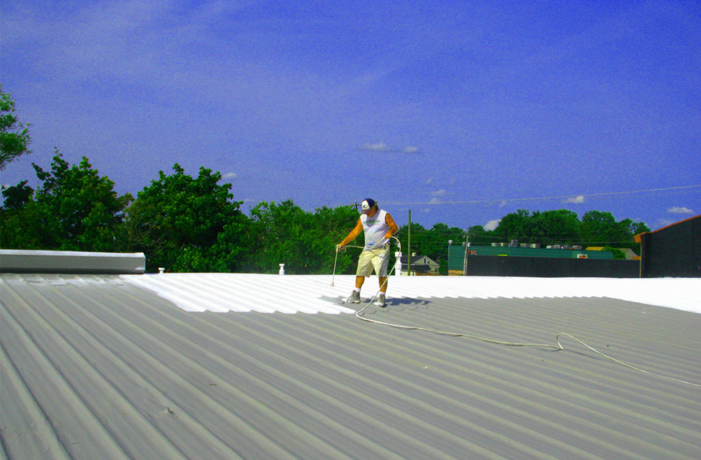 roof restoration increases a commercial roofing system's life expectancy