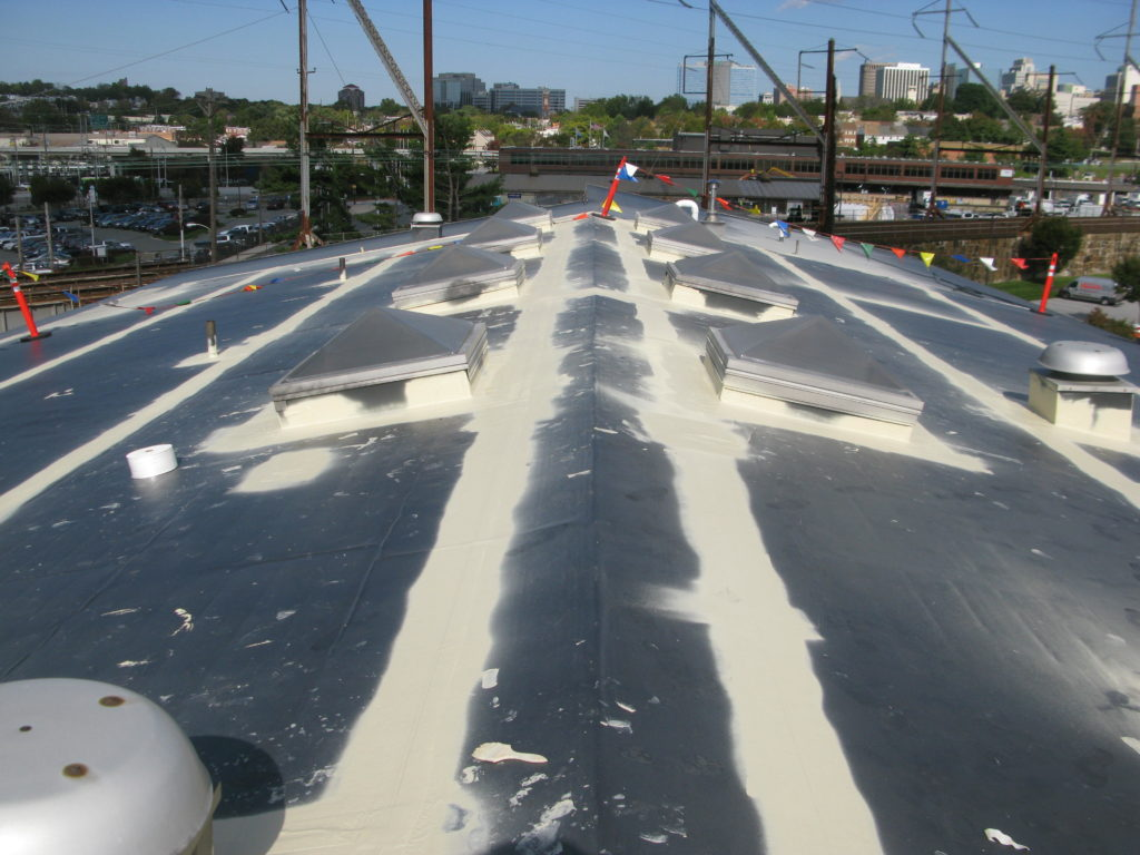 Commercial Roof Leaks (Before)