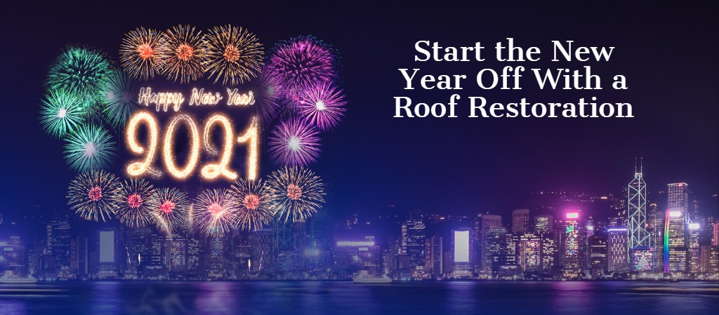 Start the New Year Off With a Roof Restoration